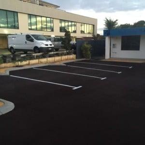 Asphalt Car Park