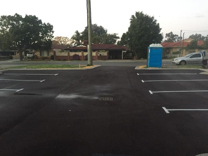 Asphalt Car Park